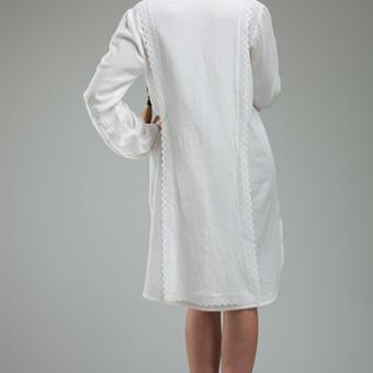 Rochia camasa cu model vertical si spate dublat2